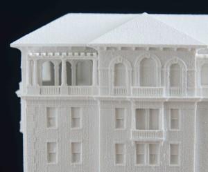 Model balcony